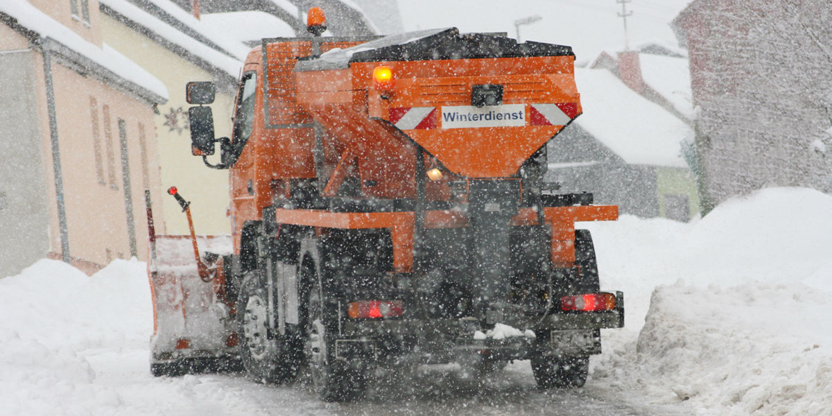Mobilize Snow & Ice Control staff quickly and easily in a cold snap