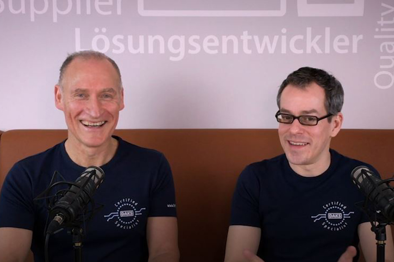 DAKS-Talk: Video-Podcasts rund um DAKS