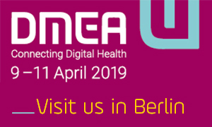 Visit tetronik at DMEA Digital Healthcare Trade Fair in Berlin 9 - 11 April 2019