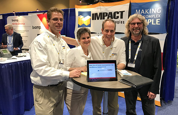 tetronik with Inpact Technologies at the Enterprise Connect 2018