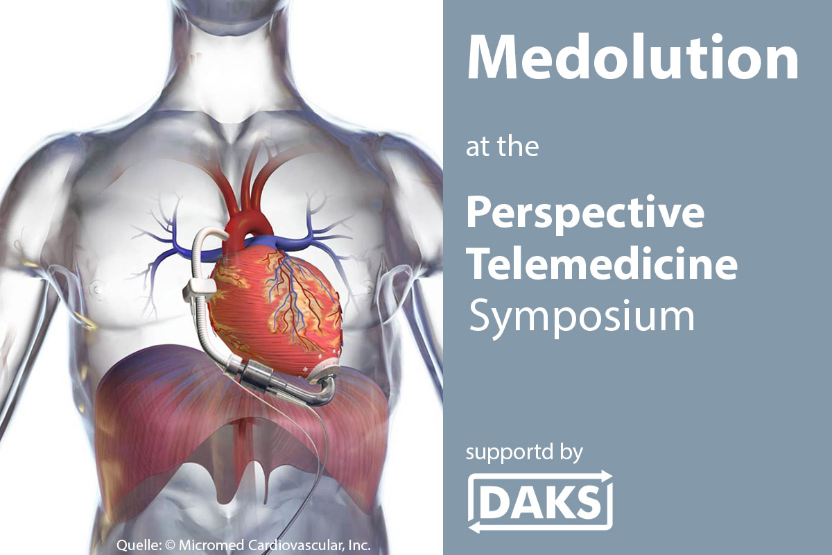 Medolution at the Perspective Telemedicine Symposium supported by DAKS