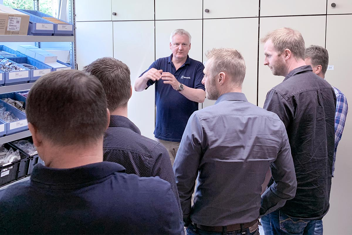 Tour through the tetronik company - manufacturing