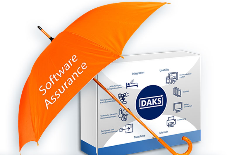 Stay up-to-date and save costs with Software Assurance for DAKSpro