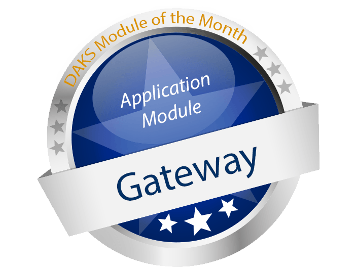 DAKSpro Application Module of the Month 'Gateway' – Connecting Communication Worlds
