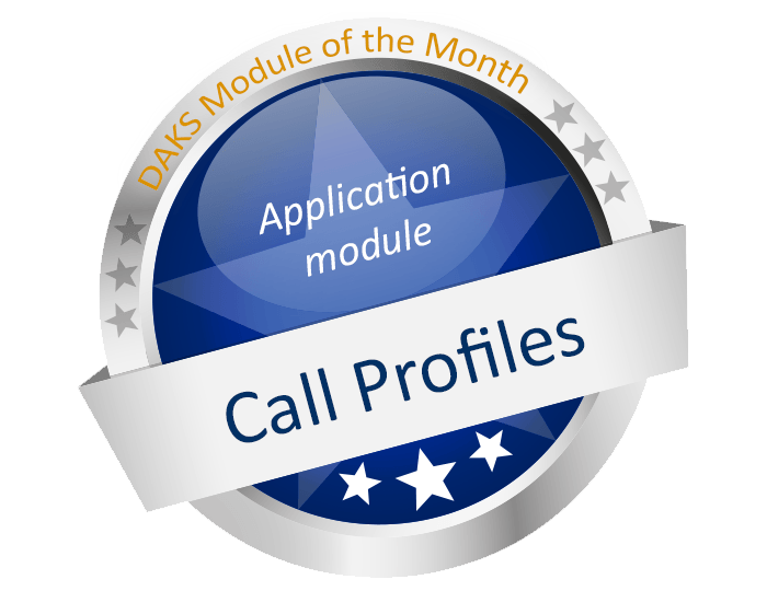 DAKS Module of the Month 'Call Profiles': Fine tuning for optimal reachability