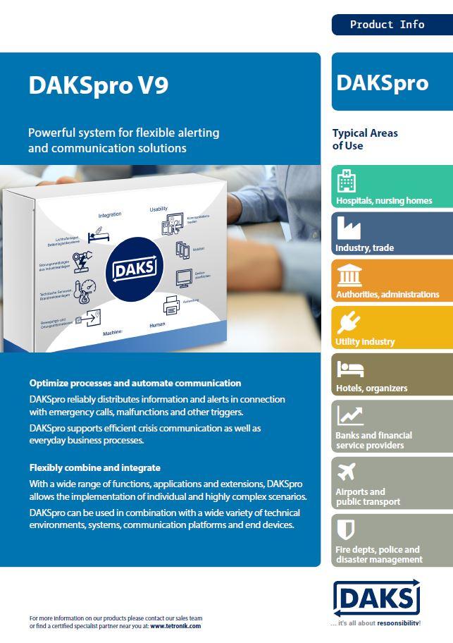 DAKSpro V9 – Produktinfo