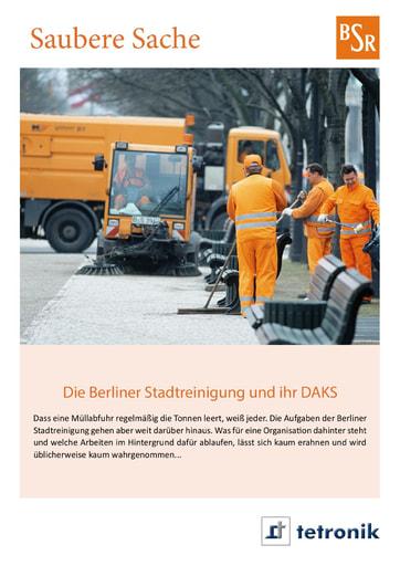 Berliner Stadtreinigung - Saubere Sache