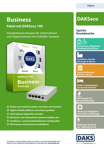 DAKSeco 100 – Business Package